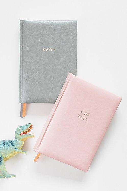 Mum Boss + Notes Bundle Pink