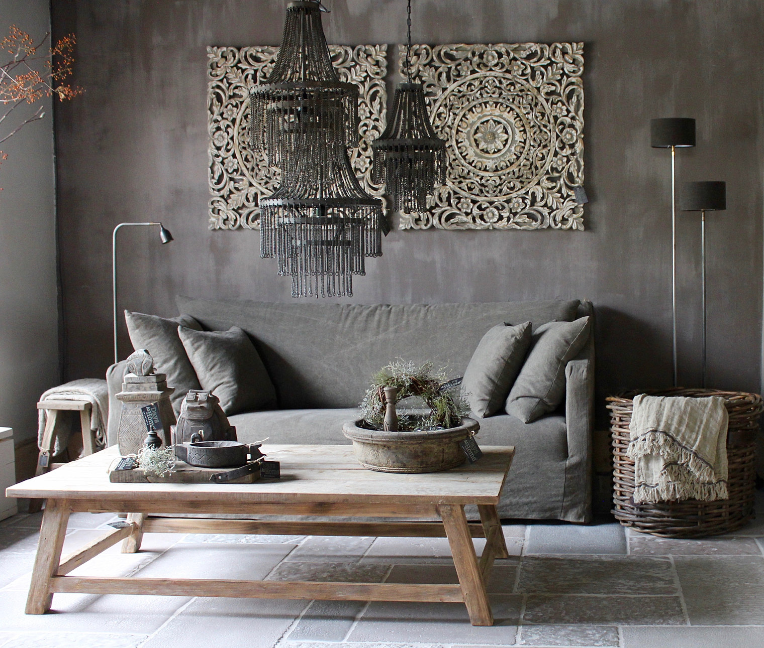 Verlichting landelijk interieur - Kroonluchter voor marokkaanse woonkamer ...