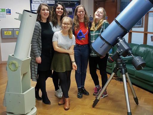 AstroSoc present: Tea, Talk and Telescope