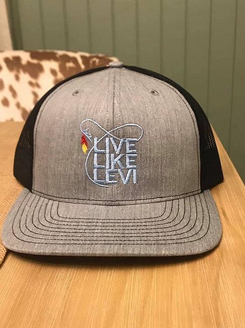 #LLL hat-grey/black