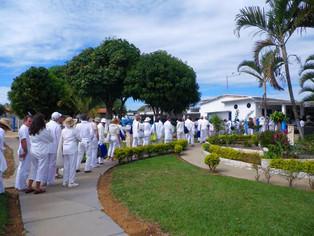 People In Line at Casa de Dom Inacio
