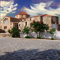 Panagia Ecatontapiliani, Greece