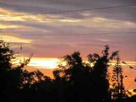 Casa de Dom Inacio Spectacular Colors At Sunset