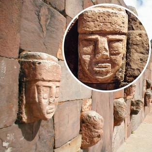 Tiwanacu Archeology Complex, Mexico