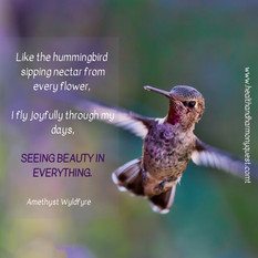 Seeing beauty in everything