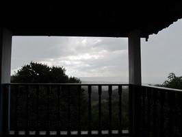 Casa De Dom Inacio Complex Panorama Terrace Rainy Day