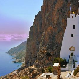 Panagia Hozoviotisa, Greece