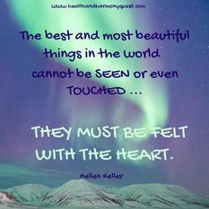 Felt with the Heart