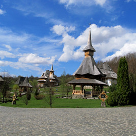 Barsana Monastic Complex, Transylvania, Romania
