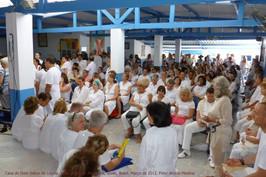 People In The Waiting Hall At Casa de Dom Inacio