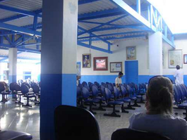 Waiting Hall Empty At Casa de Dom Inacio