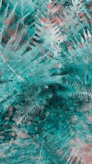 Green Leaves Watercolor