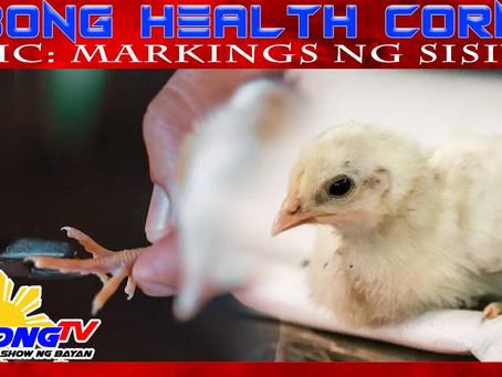 Markings ng Sisiw sa Sabong Health Corner (November 15, 2020)