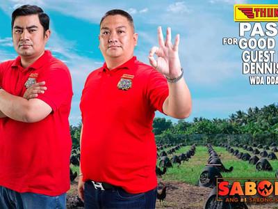 Thunderbird with Dennis De Asis of WDA DDA Gamefarm of Bacolod (April 18, 2021)