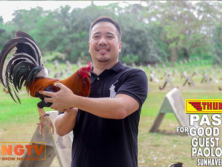 Sabong Champ Breeder Paolo Malvar for Thunderbird (March 7, 2021)