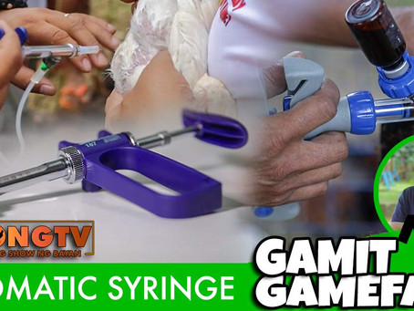 Automatic Syringe sa Gamit Gamefarm (May 9, 2021)