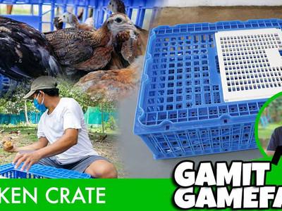 Chicken Crate sa Gamit Gamefarm (April 18, 2021)