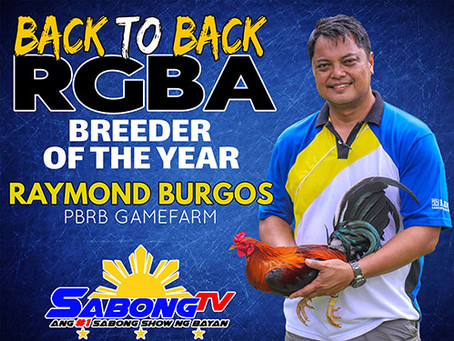 Back To Back RGBA Breeder of the Year (January 22, 2020)