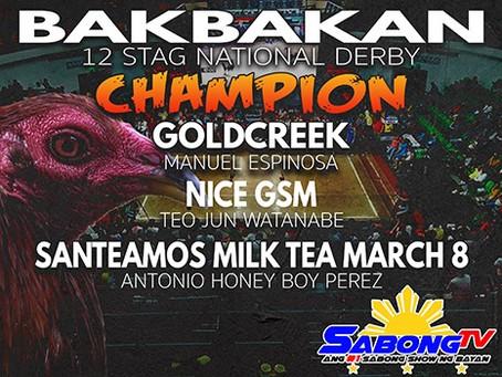 2019 Bakbakan Champions (December 17, 2019)