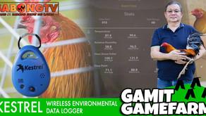 Gamit Gamefarm ang Kestrel Wireless Environmental Data Logger (October 31, 2021)