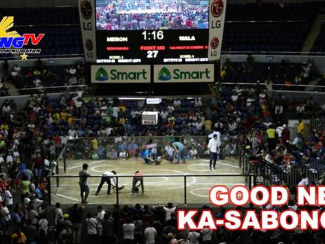 Magandang Balita Para sa Sabong sa Pilipinas (October 21, 2020)