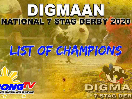 Digmaan National 7-Stag Derby (December 26, 2020)