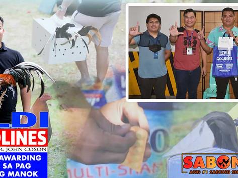 LDI Pearl Ring Awarding at Biyahe Tips ng Manok with Doc John (September 12, 2021)