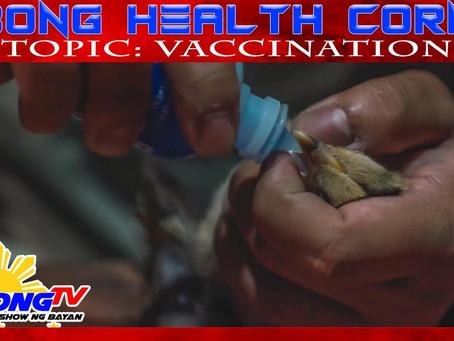 Tamang Pagbakuna sa Alagang Manok on Sabong Health Corner (November 29, 2020)