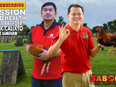 Councilor Mark Calixto of JMC Gamefarm with Doc Jayfee (April 11, 2021)