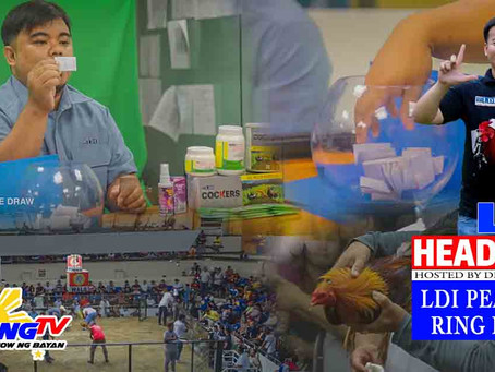 Sabong Derby Pearl Cup Ring Raffle sa LDI Headlines (February 14, 2021)