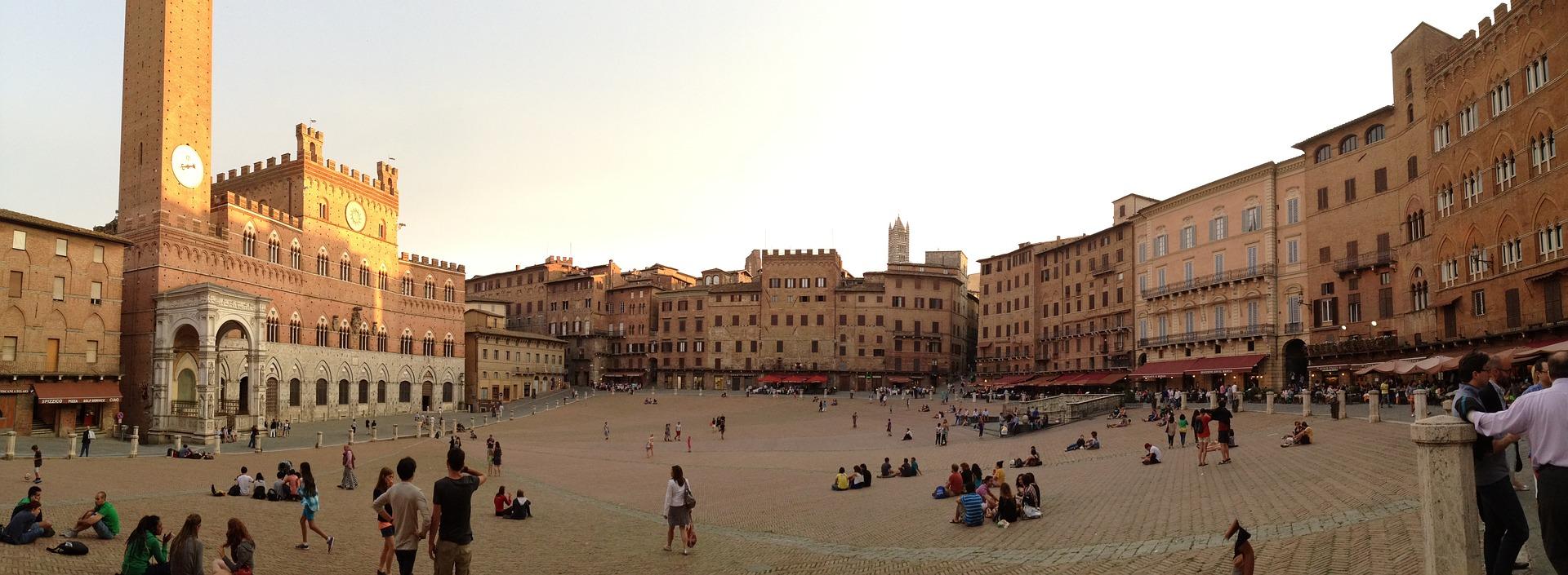 Siena, Piazza del Campo Tuscany