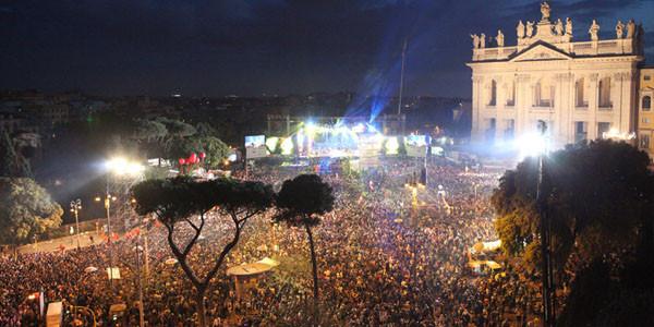 1 maggio concert in Rome