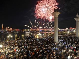 Festa del Redentore: Fireworks in Venice