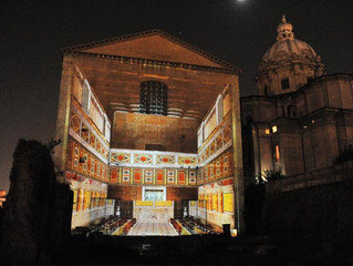 Rome has never been so beautiful: light shows at Roman Forum of August and Caesar, only available fo