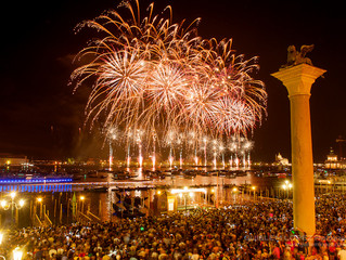 One of the most popular summer traditions in Italy: Festa del Redentore in Venice