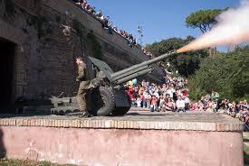 Gianicolo, cannon