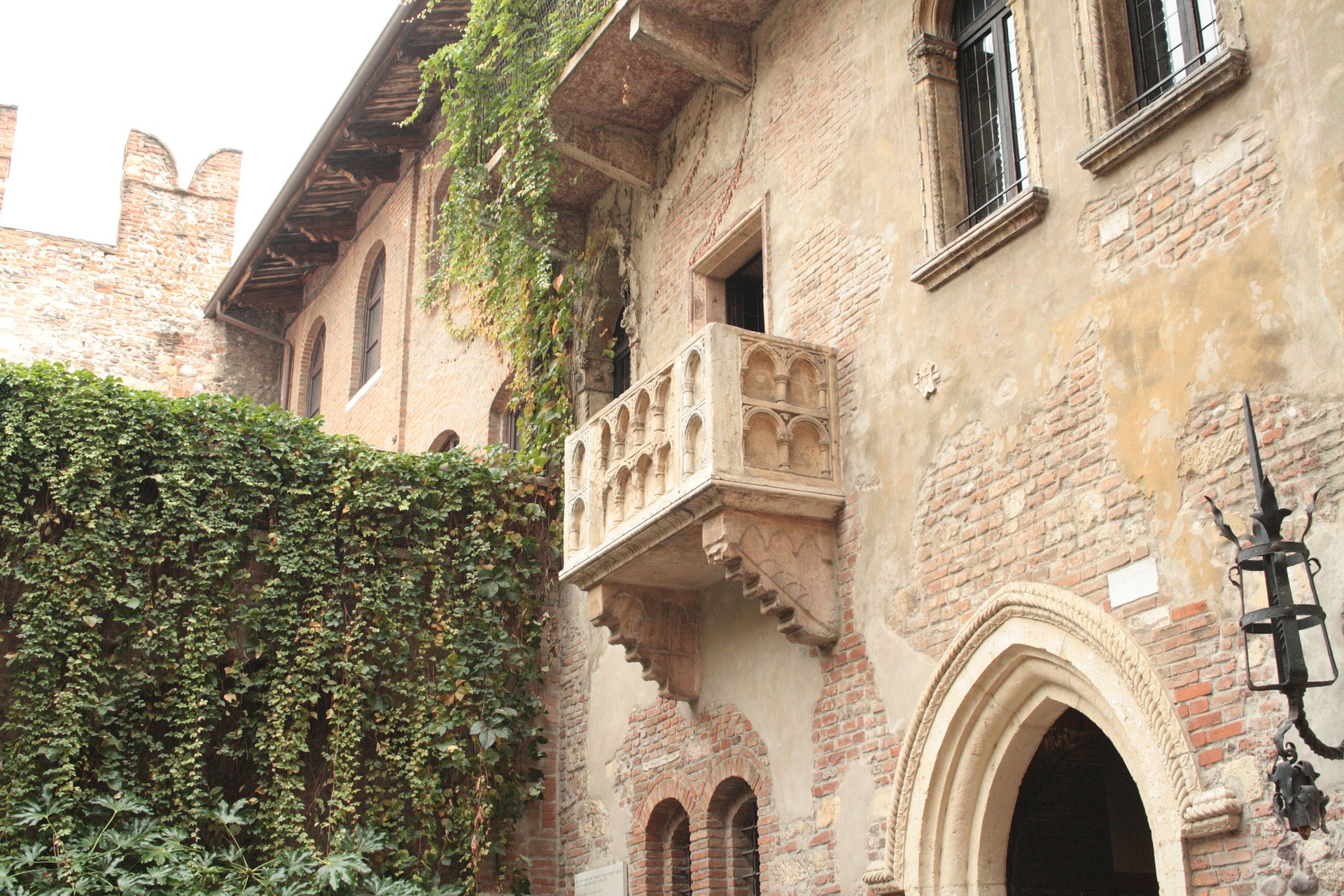 Rome and Juliet's Balcony