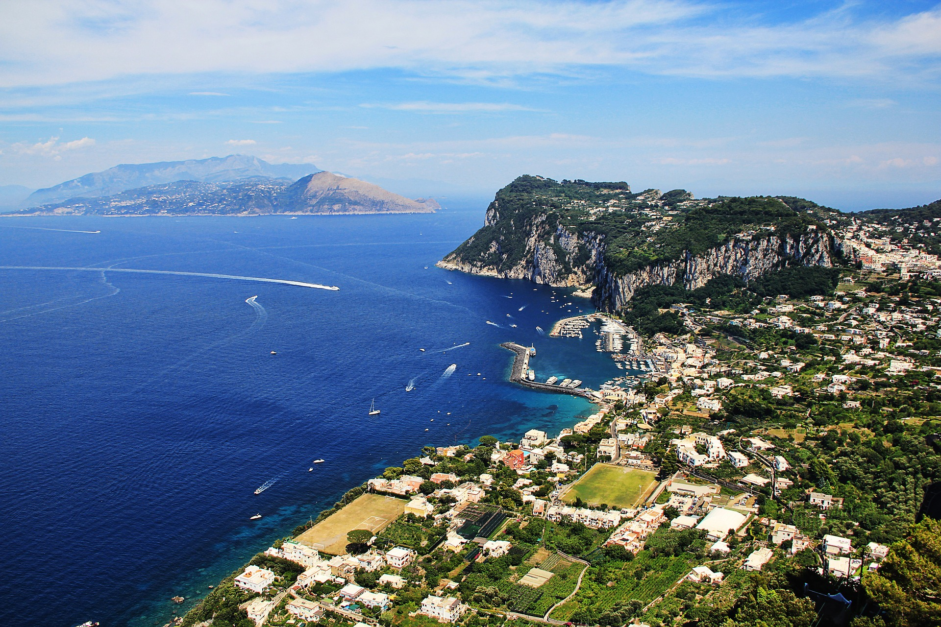 Amalfi Coast and Capri