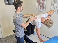 Thoracic mobility exercise sports therapy