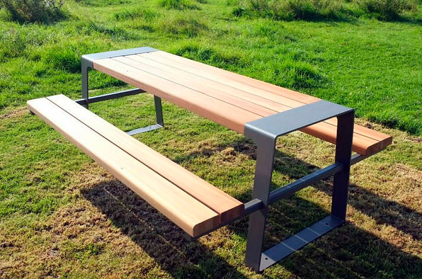 OUTDOOR DINING BENCHES ,3 DESIGNS