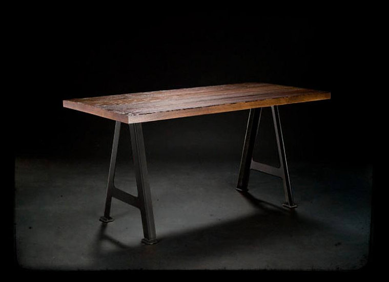 A FRAME DINING TABLE OR DESK