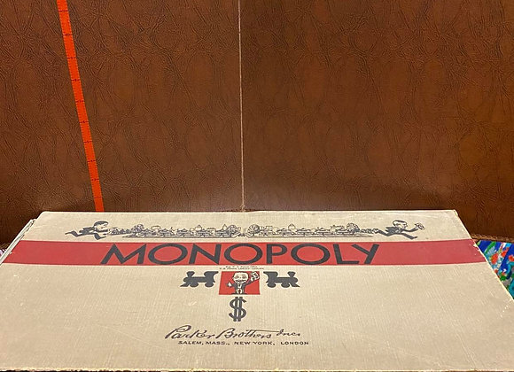 Vintage 1940's Parker Brothers Monopoly Game