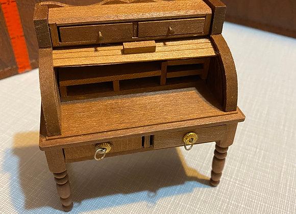Vintage Reevesline Sheraton Roll-Front Desk
