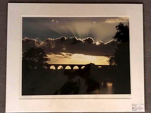 Whalley Viaduct,Signed Print by Chris Robinson