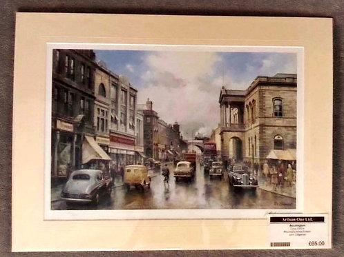 Blackburn Road, Accrington Limited Edition by John Chapman