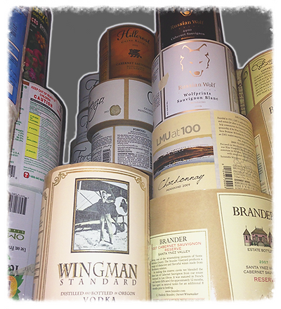 Prime Label, Flexographic Labels, Wine Label, Custom Label
