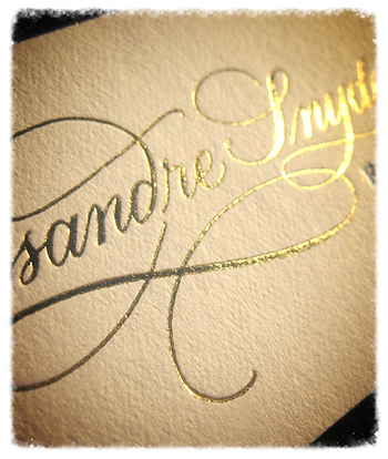 Foil Stamping, Label Enhancement