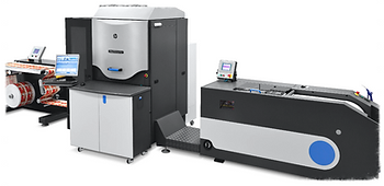 HP Digital Printing Press, Edwards Label, Digital Printing