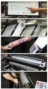 Mark Andy VersaMax Press, Edwards Label, Printing