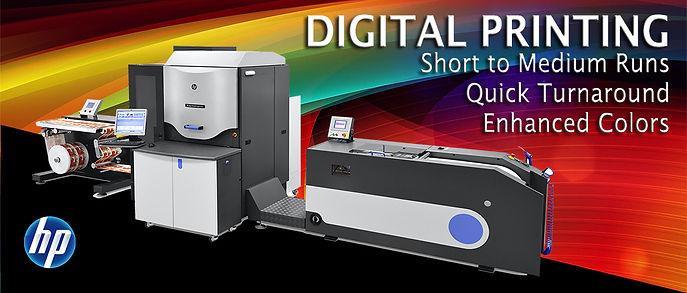 HP Digital Label Printing
